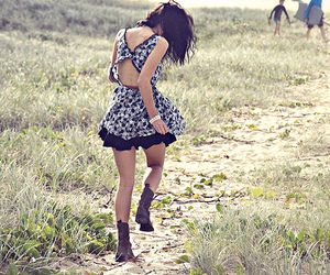 girl, dress, and pretty image