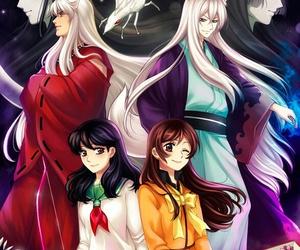 inuyasha, anime, and kagome image
