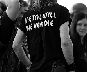 metal, metalhead, and music image