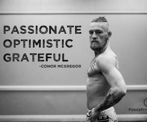 grateful, mma, and optimistic image