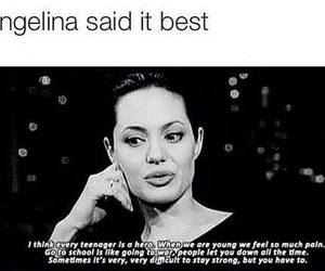 Angelina Jolie, qoutes, and quote image
