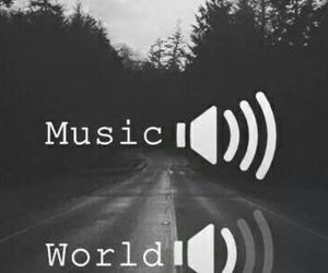 music and world image