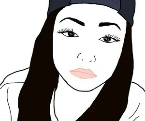drawing, outlines, and kayla philips image