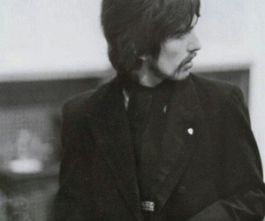 george harrison, the beatles, and 1960s image