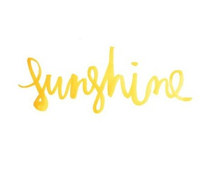 sunshine, yellow, and quotes image