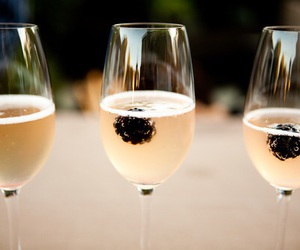 drink, champagne, and luxury image