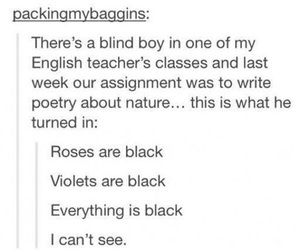 poetry, assignment, and black image