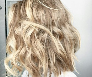 april, blond, and curls image