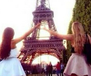 bff, paris, and best friends image