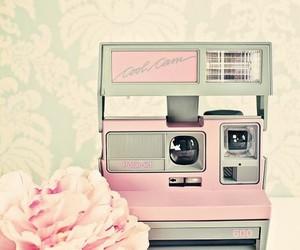 pink, camera, and vintage image