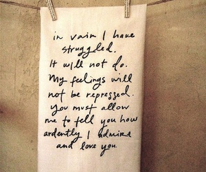 pride and prejudice, Mr. Darcy, and quote image