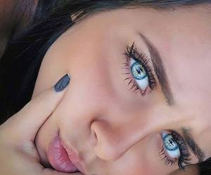 girl, beautiful, and eyes image