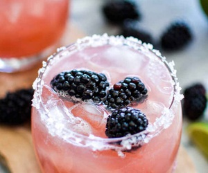 alcohol, blackberry, and drinks image