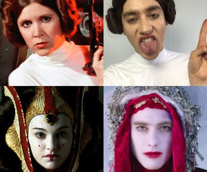 cosplay, star wars, and olly alexander image