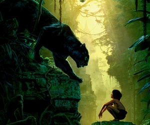 2016, jungle book, and movie image