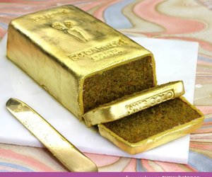 cake, awesome, and golden image