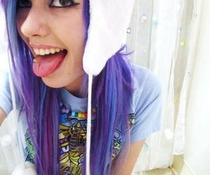 girl, leda muir, and hair image