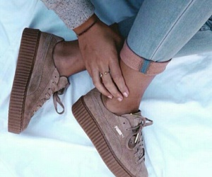 puma, shoes, and love image