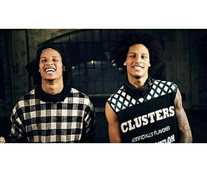 dancers, les twins, and laurent bourgeois image