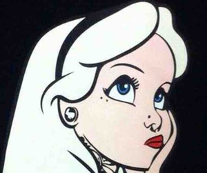 alice, disney, and tattoo image