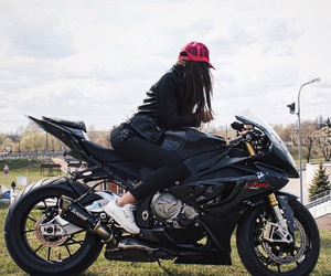 beautiful, bike, and black image