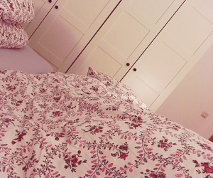 bed, ikea, and interior image