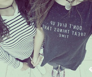best friends, fashion, and friends image
