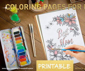 etsy and coloring pages image