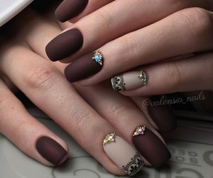 nails, art, and nail art image