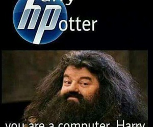 harry potter, hp, and funny image