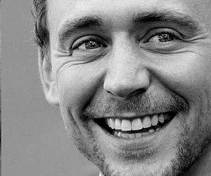 tom hiddleston, smile, and loki image