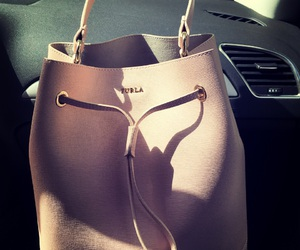 furla, pink, and love image