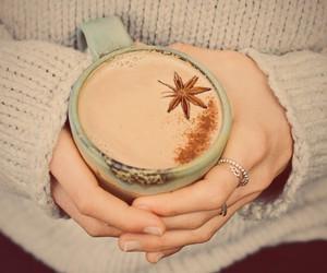 almond milk, chocolate, and drinks image