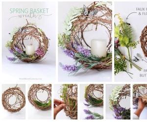 basket, diy, and ideas image