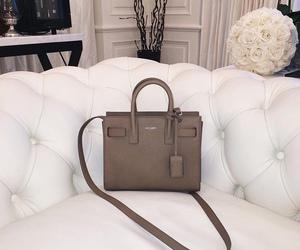 bag, fashion, and saint laurent image