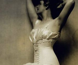 vintage and corset image