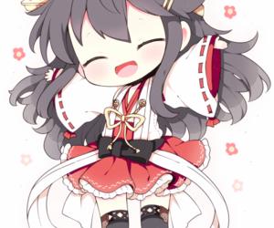chibi, kawaii, and kantai collection image