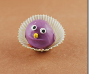 Chick, easter, and cake balls image