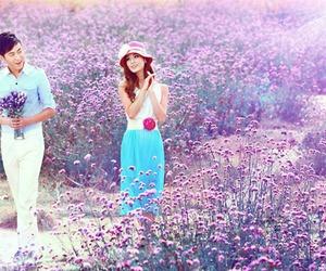 couple, paisaje, and Dream image