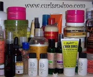 Afro, products, and care image