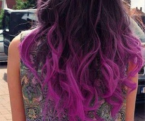 hair, purple, and perfect image