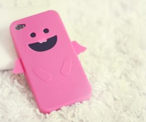 pink, cute, and iphone image