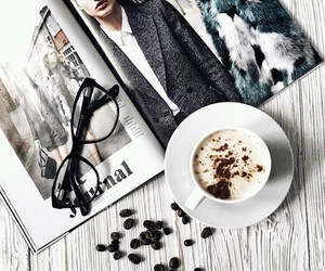 coffee, fashion, and cup image
