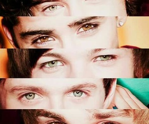 one direction, Harry Styles, and eyes image