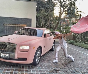 pink, car, and dab image