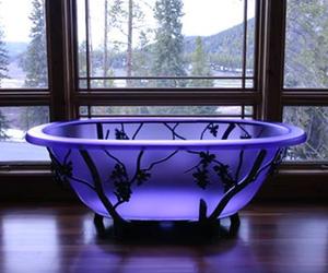 bathtub and decor image