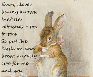 beatrix potter, bunny, and quote image