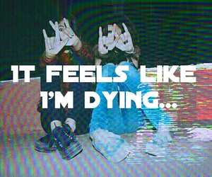 alternative, dying, and feelings image
