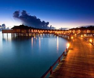 maldive, beach, and beautiful image