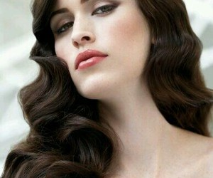 fashion, hairstyle, and makeup image